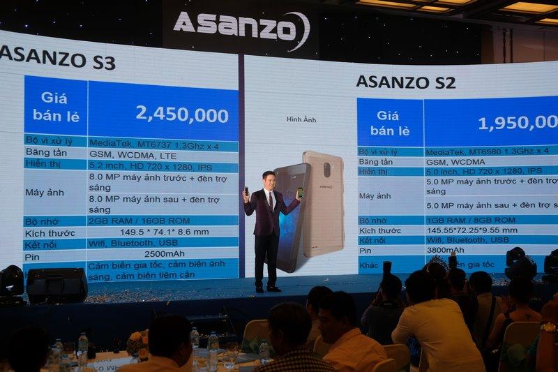 Asanzo thương hiệu việt tung bộ đôi sản phẩm